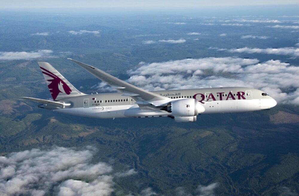 Qatar Boeing 787-8