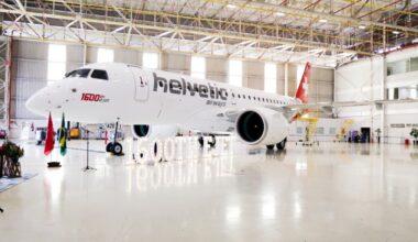 1600 ejet embraer E190-E2