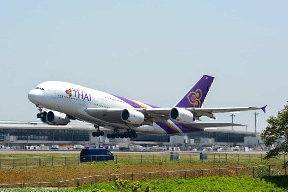 thai airways airbus a380