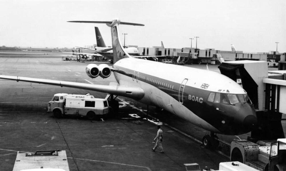 Vickers VC10 BOAC