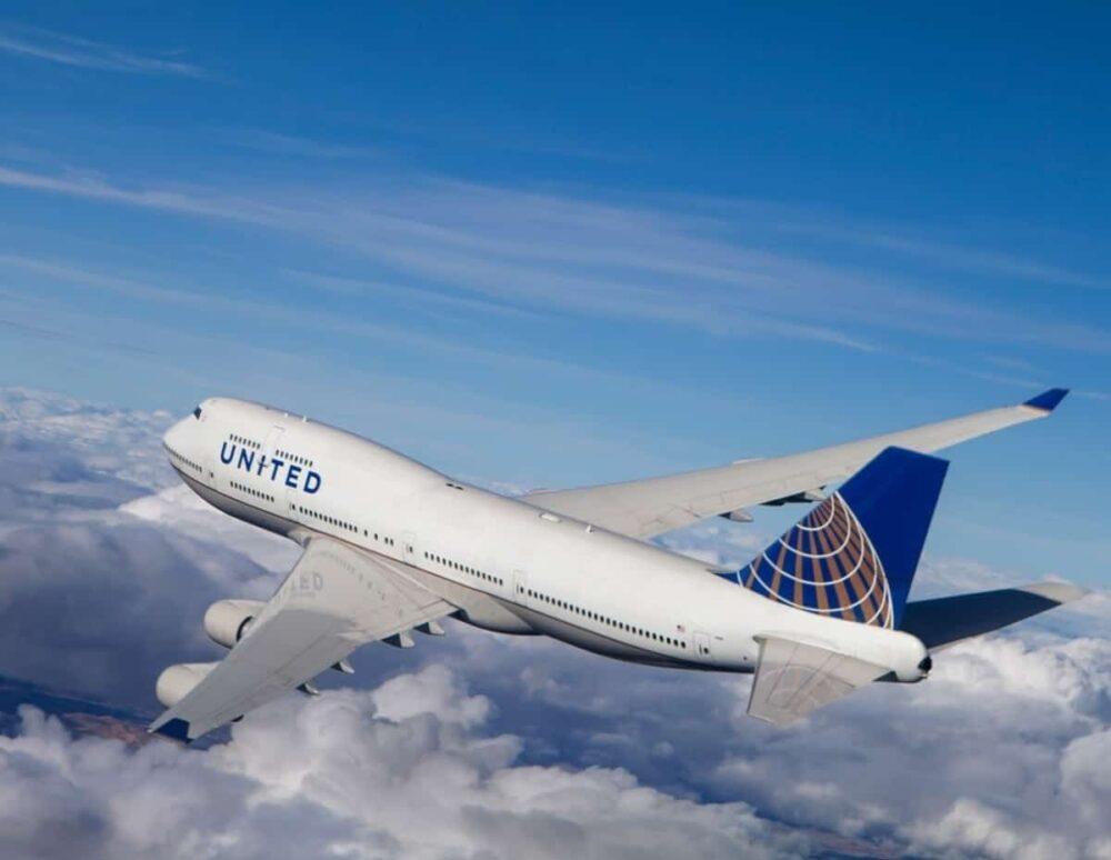 United 747 Jet