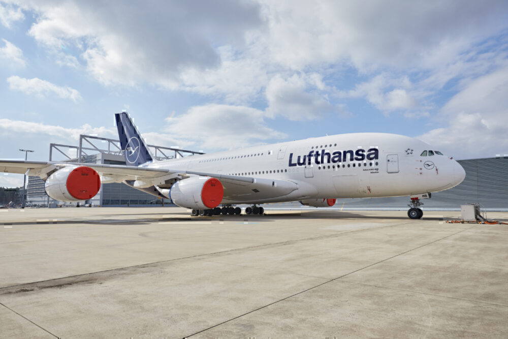 Lufthansa, Deliveries, Rate Slowed