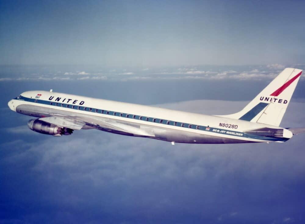 Douglas DC-8 Jet United
