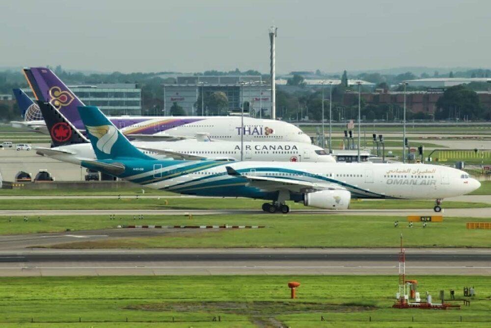 Oman Air A330 LHR