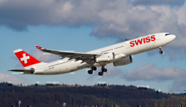 Swiss A330 Incident