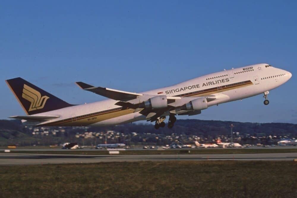 Singapore Airlines 747