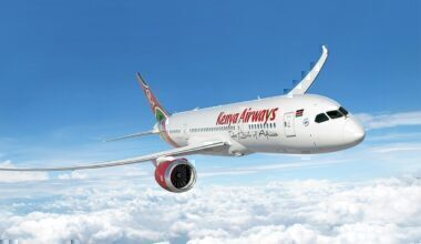 Kenya airways International flights resume
