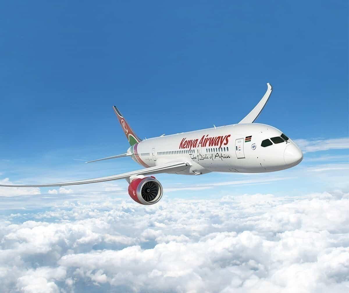 Kenya airways International flights resume