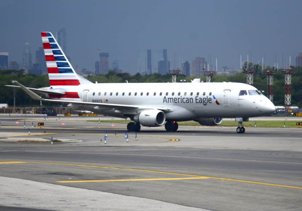 Getty Embraer ERJ-175 American Airlines American Eagle