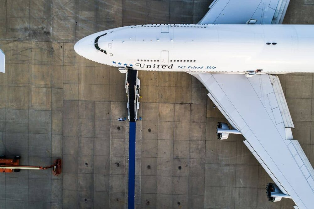 United 747 Farewell