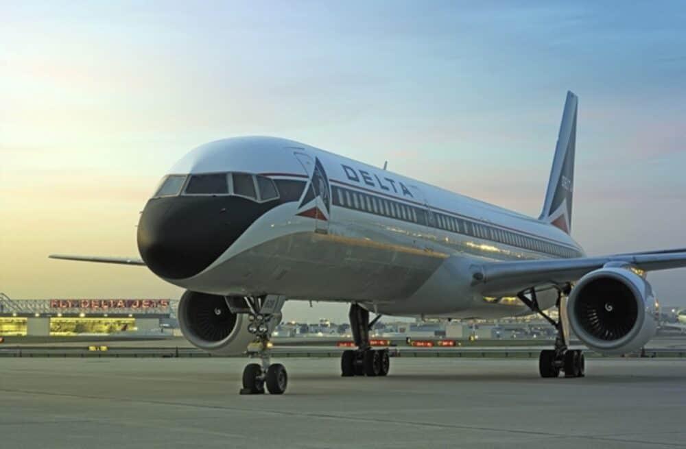 Delta Boeing 757 Jet