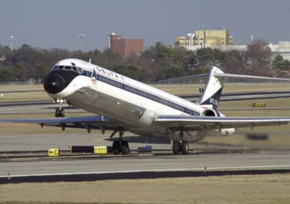 Delta MD-88 Jet