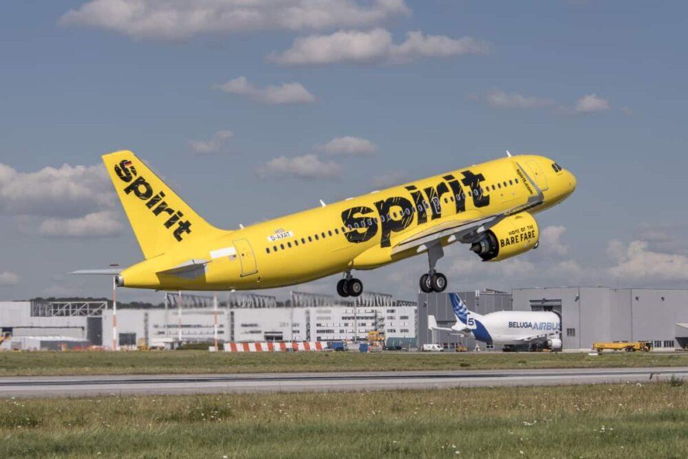 Spirit Airlines planes