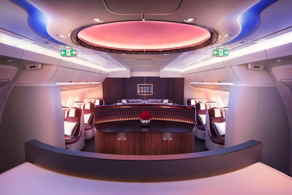A350 Qatar Interior