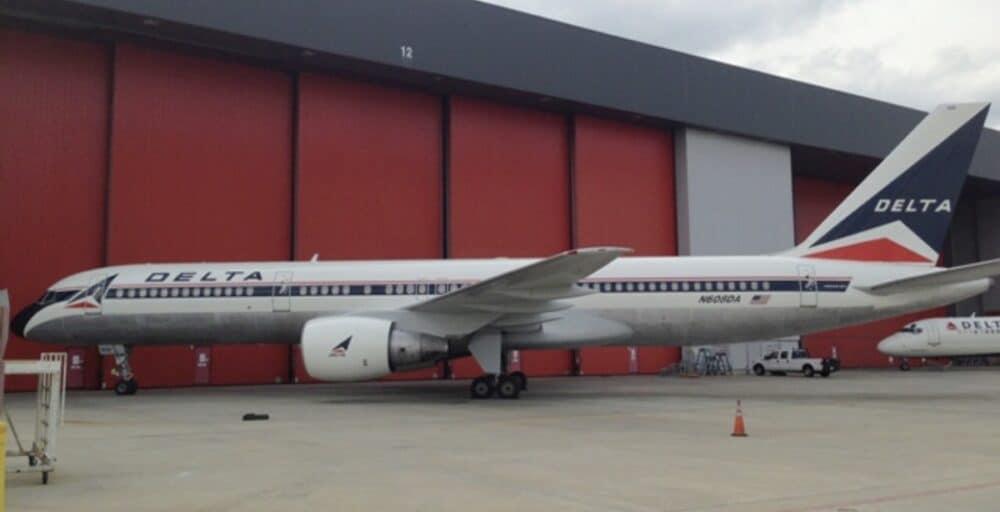 Delta Air Lines 757