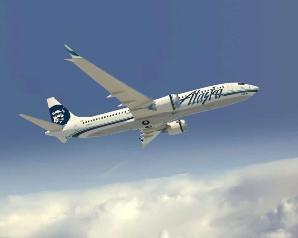 Alaska Airlines 737-MAX8 Artwork