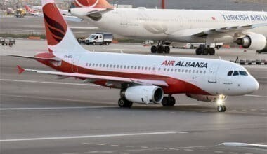 Air Albania Airbus A319