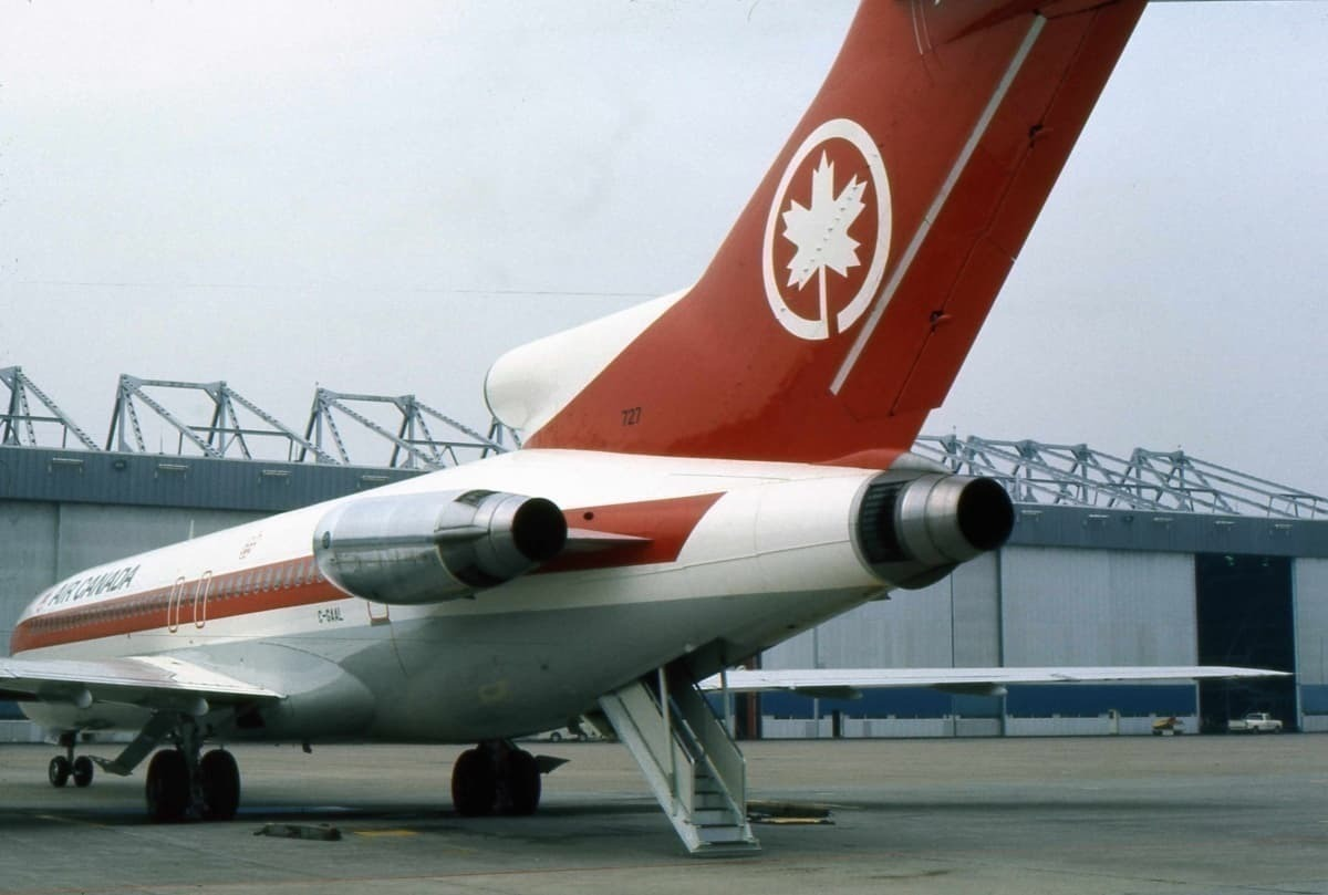 The Problem With The Boeing 727's Rear Door