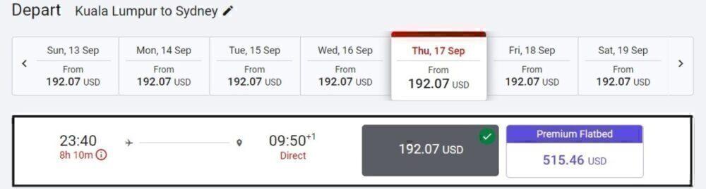Air Asia fares