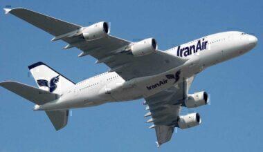 Airbus A380 IranAir