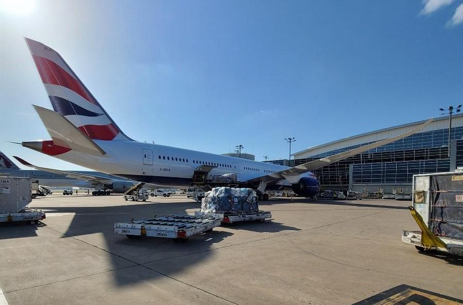 British Airways, IAG Cargo, Boeing 787-10