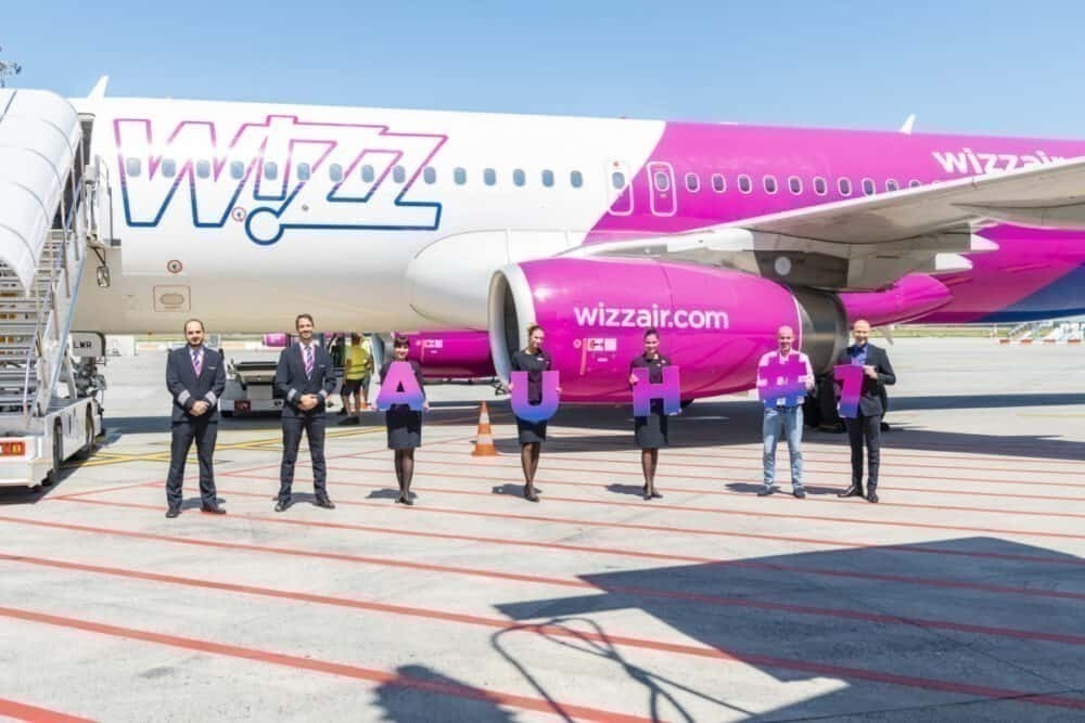 Wizz Air, Abu Dhabi, Inaugural Flight