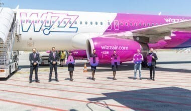 Wizz Air, Abu Dhabi, Inaugural Flight