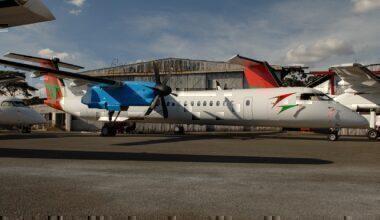 Bluebird Aviation Dash 8