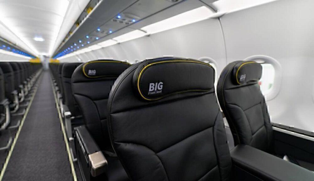 Spirit Big Front Seat