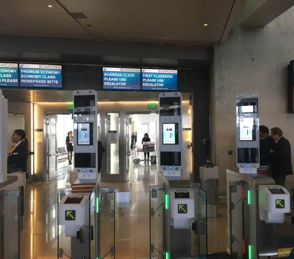 Lufthansa biometric