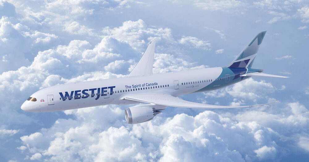 WestJet 787 Jet