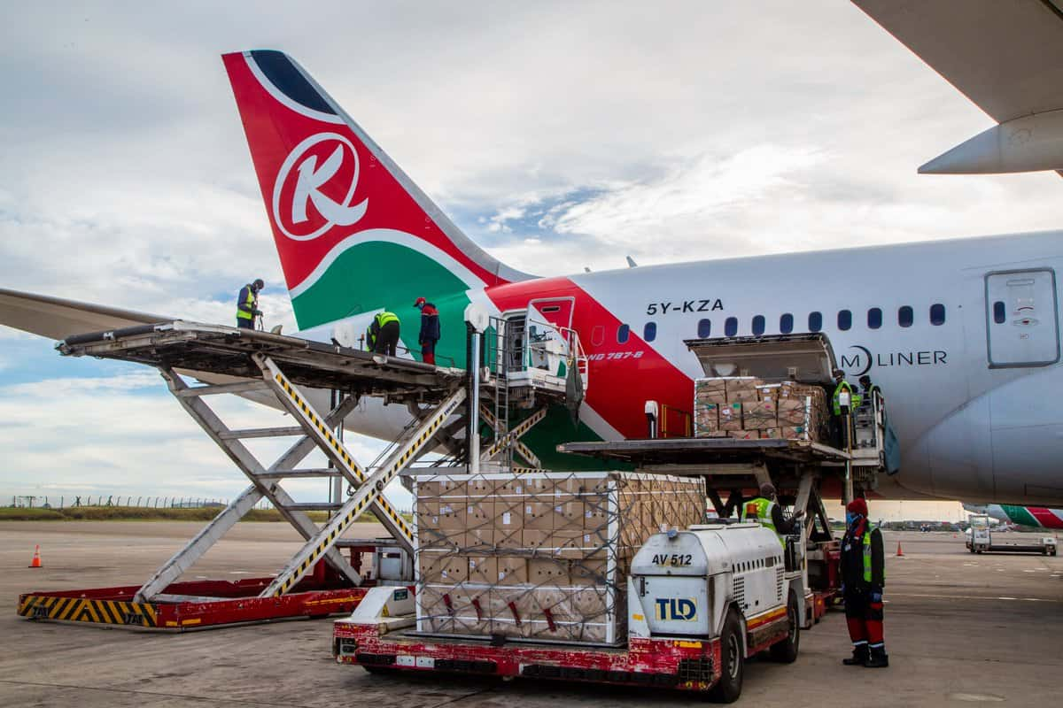 Kenya airways cargo