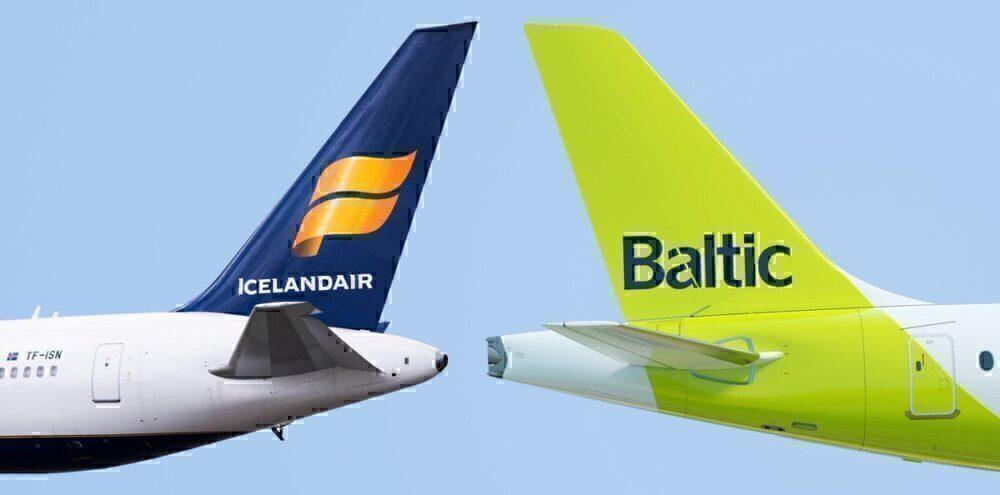 icelandair airbaltic codeshare