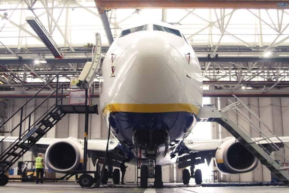 Ryanair, COVID-19, Maintenance