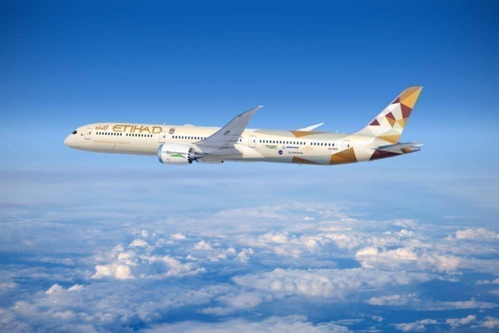 Etihad Airways Boeing