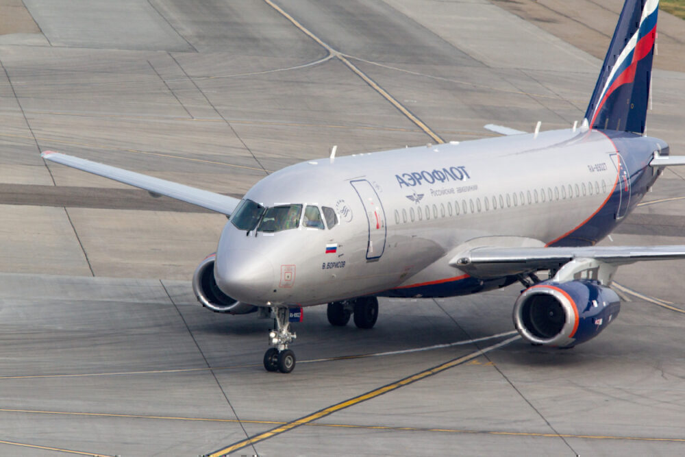 Sukhoi Superjet getty