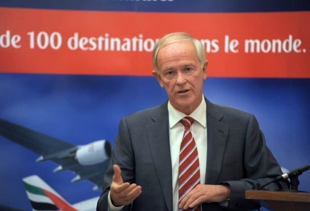 Tim Clark CEO President Getty Images Emirates