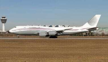 Qatar Royal Family, Boeing 747, Private Jet