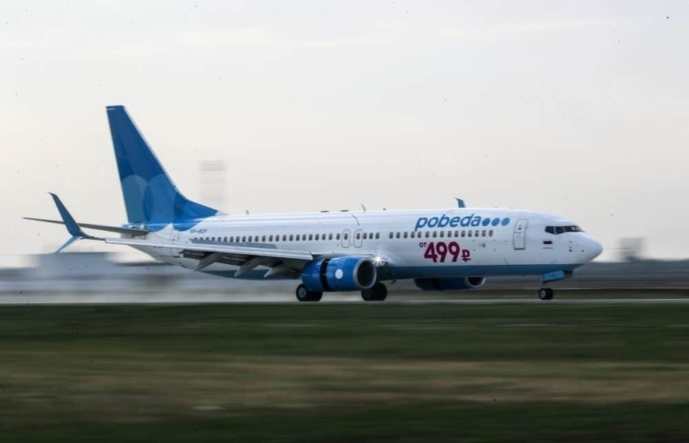 Aeroflot's Low-Cost Arm Pobeda Saw July Traffic Similar To 2019's
