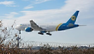 Ukraine Airlines UIA Boeing 777