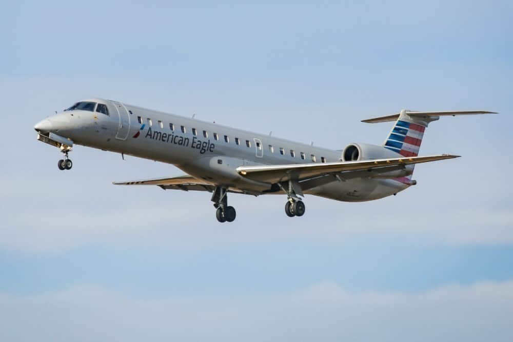 Embraer ERJ-145 Getty