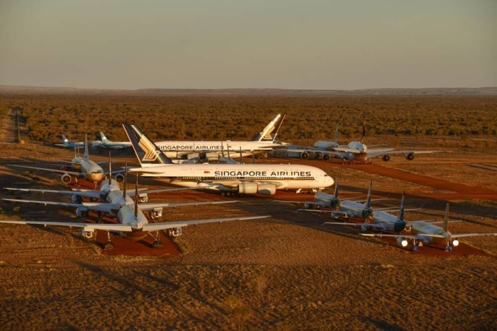 Singapore Airlines Sends Two More Airbus A380s To Alice Springs