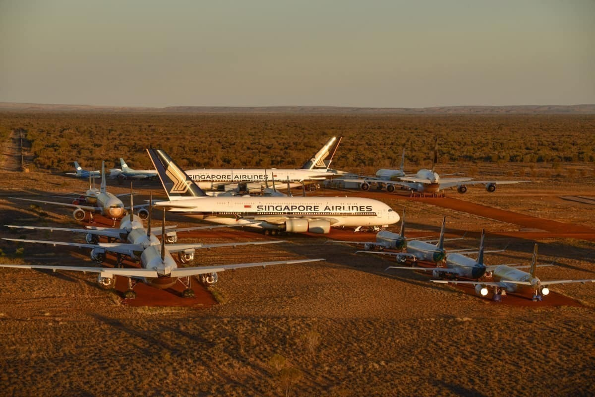 Cathay Pacific To Fly Aircraft For Storage In The Australian Desert