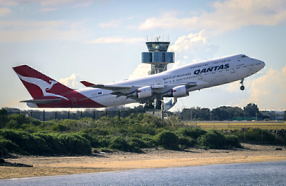 Qantas, Boeing 787, Desert Storage