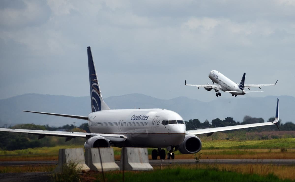 COPA Airlines at Panama Airport