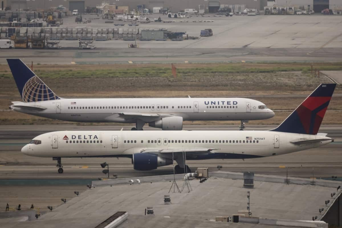 Delta and United Airlines