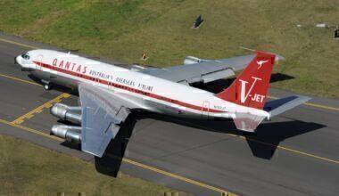 John Travolta's Boeing 707 At Sydney Airport Getty