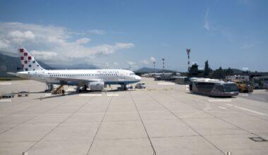 Croatia Airlines Airbus A320 Dubrovnik