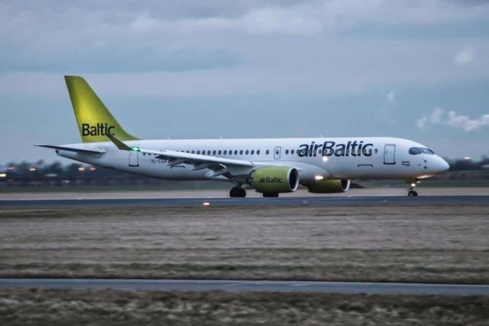 airBaltic, June, Load Factor