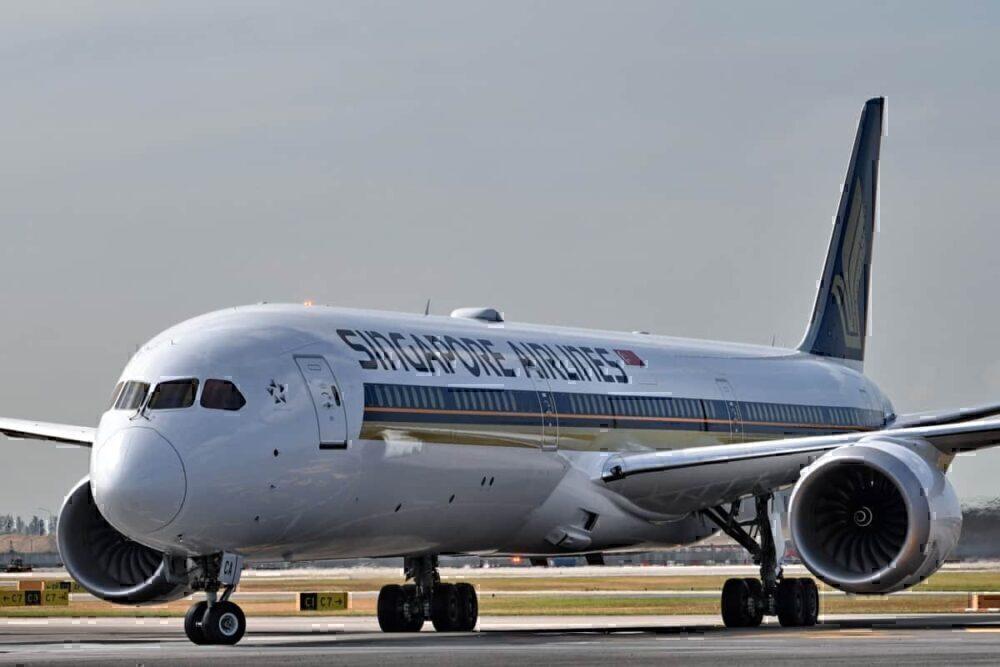 Singapore 787-10 Getty